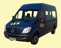 Mercedes Bus 9-Sitzer lang