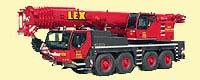 220 Tonnen Kranfahrzeug