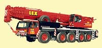 200 Tonnen Kranfahrzeug