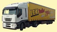 LKW Schwertransport