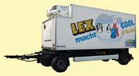 Mobiler Kühlcontainer