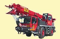 30 Tonnen Kranfahrzeug