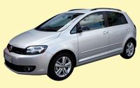 VW Golf Variant Silber