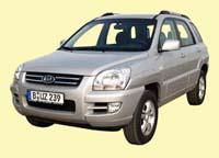 Kia Sportage SUV Silber