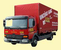 lkw kipper lkw mit ladekran mietwagen mieten von lex. Black Bedroom Furniture Sets. Home Design Ideas