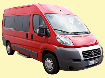 Fiat Luxus 9-Sitzer kurz