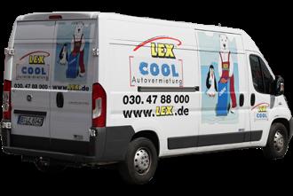 Tiefkühl Transporter 3,5t - 4 Paletten