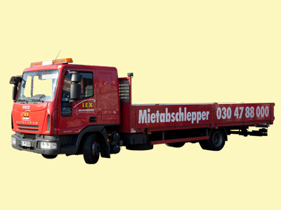 lkw lkw abschlepper doppelkabine mietwagen mieten von lex berlin. Black Bedroom Furniture Sets. Home Design Ideas