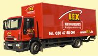 LKW 12 Tonnen - mit Koffer
