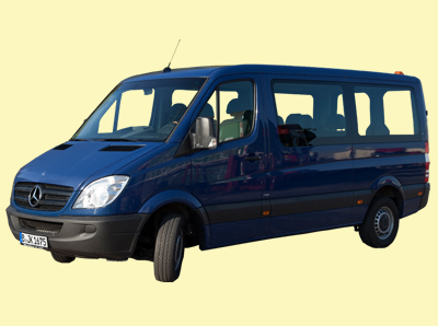 Mercedes Bus Sprinter  9 Sitze kurz