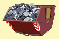 Bauschutt Container