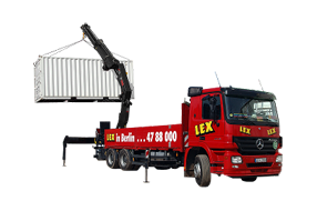 LKW mit Kran 26 Tonnen