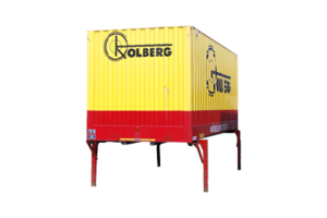 Container mit Standfuß