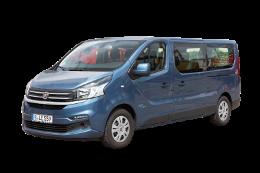 Das Mietwagen Angebot von Lex beinhaltet auch 6 sitzige und 9 Sitzer Busse