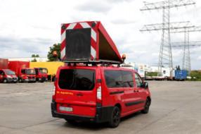 BF3 Begleitfahrzeug mit Wechselverkehrzeichenanlage
