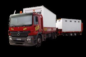 Containerfahrzeug