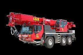 55 Tonnen Kran mieten