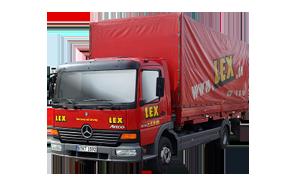 7,49 Tonnen Lkw mit 6m Plane