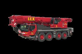 100 Tonnen Kran