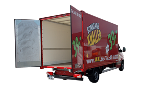 Transporter mit Türen(Fk:B) 3,5m