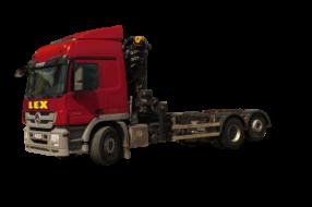 Schwertransporter – LKW mit Wechselbrücke