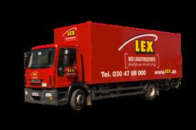 LKW 12 Tonner Koffer/LBW