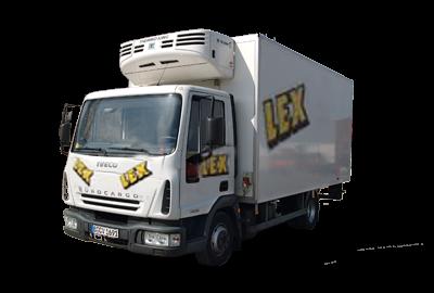 Tiefkühler und Kühlfahrzeuge gehören zu den speziellen Fahrzeugen der Lex Autovermietung in Berlin.